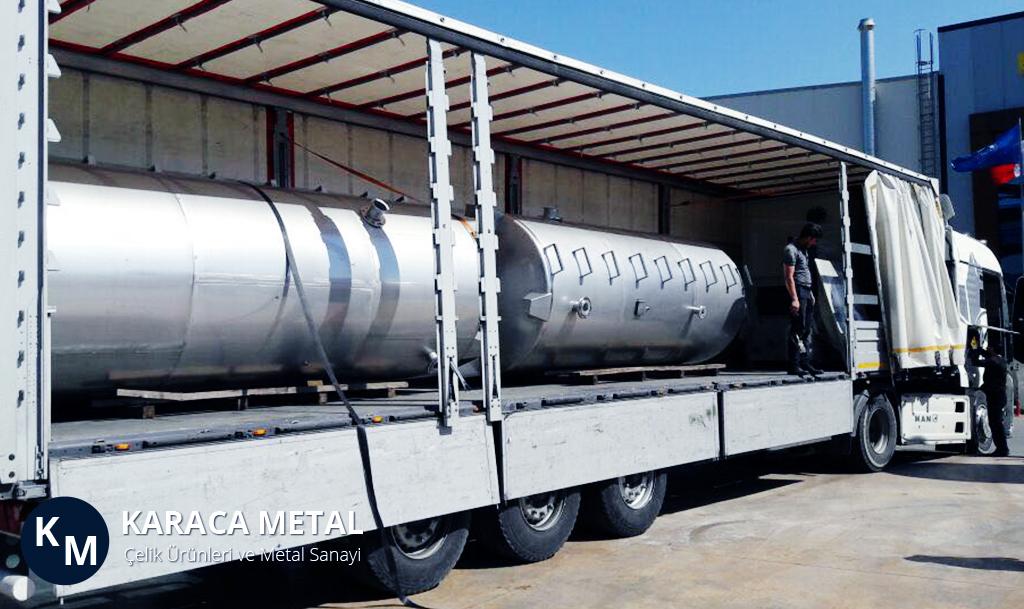 Paslanmaz Su Depolama Tankı