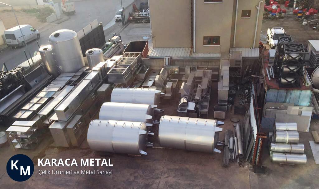 Karaca Metal - Kaliteli Paslanmaz Çelik Su Depo, Tankı